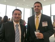 Daniel Chacon, business development manager, Constellation Energy; Brett McGonnigal, business development manager, Constellation.