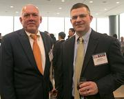 Mark Heckman, principal, Marks-Thomas Architects; Bob Porter, attorney, Wagonheim Law.