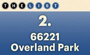 No. 2 ZIP Code: 66221  Location: Overland Park  Average Net Worth: $1,258,608 Median Disposable Income: $103,916 These are just two components used to rank the wealthiest ZIP codes. Learn how the rankings were developed and demographics for the wealthiest ZIP codes.   COVER STORY:  Where the money lives: A data-packed tour of KC's wealthiest ZIP codes   For more information, check out the 2014 wealthiest ZIP codes available to KCBJ subscribers.