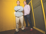 From left, Schedule Savvy co-founder Carlos Wang and CEO Mike Hollman want to help you clean your house.