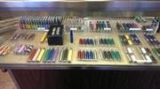 A selection of vapor products sold at Tobacco Joes in Everett, Wash.