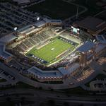 <strong>Allen</strong> <strong>Eagle</strong> stadium may need partial demolition to correct cracks, report says