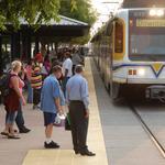 Here's how many Golden 1 Center attendees used light rail