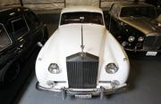 A 1962 Rolls-Royce Silver Cloud II owned by Roy Dubrow and British Motor Coach is kept in the company's fleet garage in Seattle.