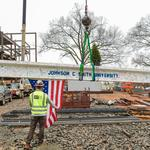 Johnson C. Smith tops out $45M Science Center, gains scholarship support from Duke Energy Foundation