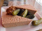 Duck liver pate appetizer at Cafe Rolle.