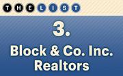No. 3 Block & Co. Inc. Realtors  Agents: 56 Location: Kansas City For more information, check out the 2014 top commercial real estate companies available to KCBJ subscribers.