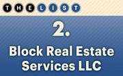 No. 2 Block Real Estate Services LLC  Agents: 64 Location: Kansas City For more information, check out the 2014 top commercial real estate companies available to KCBJ subscribers.