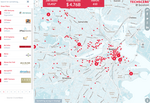 Map of Boston startups reveals similarities to tech scene in Silicon Valley