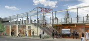 Pedestrians will be able to enter the expansion from Western Avenue, shown here, as well as from the main portion of Pike Place Market. Construction is scheduled to begin within the next year and be completed by 2016.