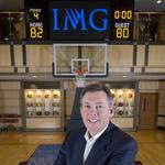 IMG College's <strong>Sutton</strong> weighs in on commercialism, paying athletes in college sports