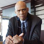 <strong>Kareem</strong> <strong>Abdul-Jabbar</strong> defends Hawks' Levenson (Video)