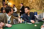 Chris Bukowski of The Bachelorette helped to raise money during the ninth annual Chance for Life charity poker tournament Feb. 22.