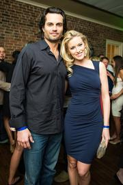 Actor Scott Elrod and Miss D.C. 2012 Allyn Rose pose for the camera at the Chance for Life event Feb. 22.