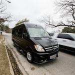 Austin real estate rep rolls out glitzy Mercedes van for property tours