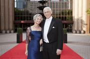 Story: Houston Grand Opera's annual ball raises $1.75M -- Slideshow  Pictured: Anne and Dr. John Mendelsohn, co-director of the M.D. Anderson Sheikh Khalifa Bin Zayed Al Nahyan Institute for Personalized Cancer Therapy, chaired the 2013 Opera Ball.