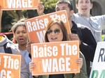 Nationally, most small-business owners support minimum wage increase, poll finds