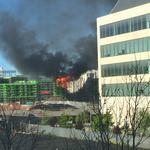 Five-alarm fire destroys half of BRE Properties' Mission Bay apartment complex