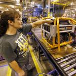 Grades for Wisconsin's manufacturing industry dip: Study