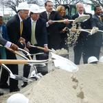 At Skyland groundbreaking, Gray digs in amid <strong>Thompson</strong> scandal