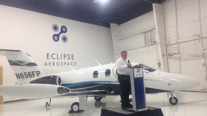 Layoffs reported at Eclipse Aerospace successor