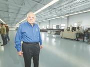 Tom Broda of Broda Machine Co. Inc., in Niagara Falls.