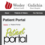 Wesley's Patient Portal gives patients access to electronic health records