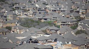From this angle, homes appear to be almost stacked on top of each other, but Leander boasts of some of the largest residential lots in the area.