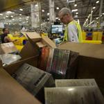 Construction on Amazon warehouse accelerates