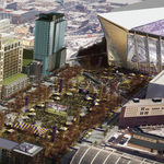 Vikings stadium site will get a lot busier; NYT profiles Downtown East project