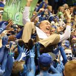 Fast-break with Dick Vitale at ACC tournament