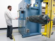 Jake Schrader, engineering technician at Steelhead Composites in Golden.