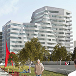 <strong>Selig</strong>'s 'folded veil' apartment tower is planned near sculpture park