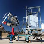 University of Colorado Boulder team builds solar-powered toilet