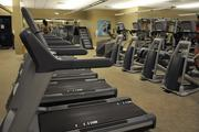 The Broken Sound gym is fully equipped with Precor exercise machines.