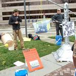 Activists protest Duke Energy plan to have ratepayers cover coal ash pond cleanup costs