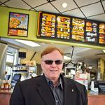 Construction on new Golden Chick takes flight