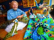 Joe Edwards will open his peacock-themed diner in the ground level of Washington University's $80 million development at Delmar Boulevard and Eastgate Avenue.