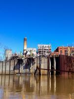 Duke Energy reports gap in ash pond dike at retired coal plant