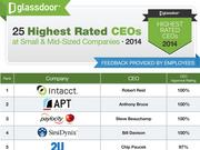 Small-to-midsized Seattle tech companies did better than their larger tech counterparts in employee ratings, according to data released by Glassdoor.