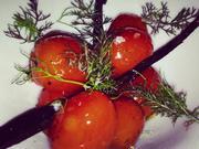 Freshly picked cherry tomatoes