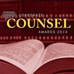 Corporate Counsel of the Year named for 2014