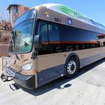 ABQ Ride tests electric buses for possible zero-emissions future