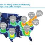Angel funding up nationwide, shrinking in the Southeast