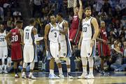 The Grizzlies beat the Miami Heat 104-86