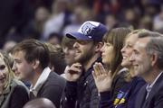 New minority owner Justin Timberlake and his wife, Jessica Biel, sit courtside as the Grizzlies win, 106-98