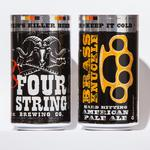 Four String Brewing to can its beers, distribute to groceries, carry-outs and bottle shops