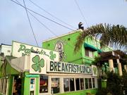 The joint with the shamrocks in Santa Monica