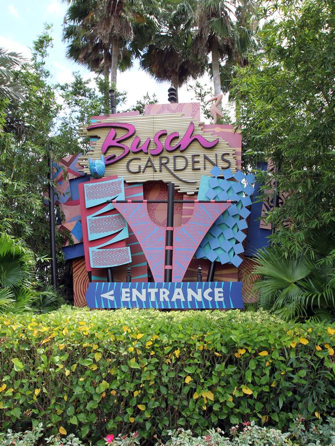 Busch gardens named a top theme park by tripadvisor tampa bay business journal for Best day go busch gardens tampa