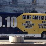 Minimum wage issue on wheels as 11-state bus tour makes Milwaukee stop
